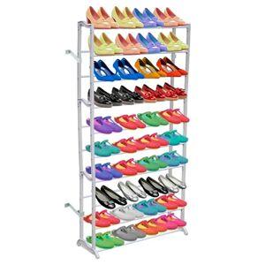 vidaXL Stojak na buty z 10 półkami