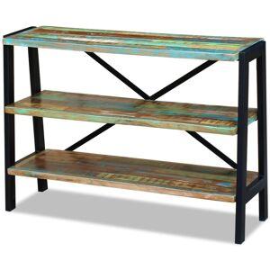 vidaXL Kredens z drewna odzyskanego z 3 półkami