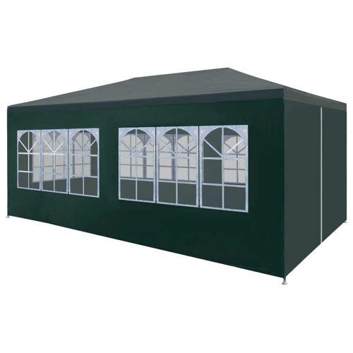 vidaXL Namiot imprezowy, 3 x 6 m, zielony