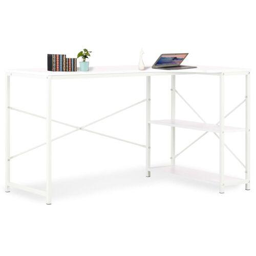 vidaXL Biurko komputerowe, białe, 120 x 72 x 70 cm