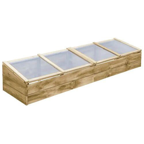 vidaXL Szklarnia, impregnowane drewno sosnowe, 200x50x35cm