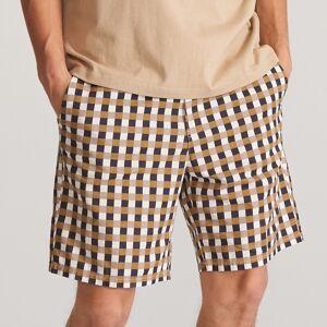 Reserved - Bawełniane szorty w kratę - Wielobarwny