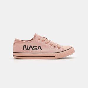 Sinsay Tenisówki NASA Różowy damski 0759H-39X 36