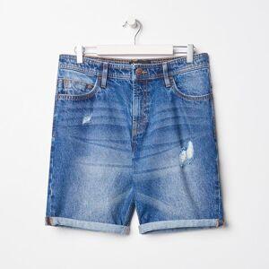 Sinsay Szorty jeansowe Granatowy męski 7529D-59J 28