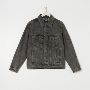 Sinsay Kurtka jeansowa Szary męski 1253F-90J S