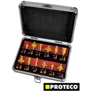 ProTeco Zestaw frezów do drewna - 12 elementów (PC10.10-SF-12)