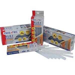 MEGATEC Klej termotopliwy w sztyfcie Ø11,2 x 200 mm, przeźroczysty, podstawowy, 5kg (K 0117)