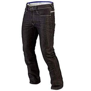 Juicy Trendz Hombre Motocicleta Pantalones Moto Pantaln Mezclilla Jeans con Proteccin Aramida Negro