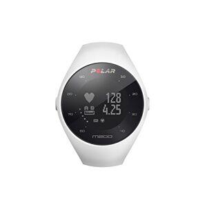 Polar M200 Reloj de Running con GPS y Frecuencia cardíaca en la muñeca Actividad 24/7 Blanco, M/L