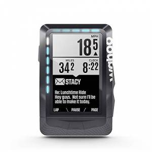 "Wahoo Fitness Elemnt GPS 2.7"" Wireless Bicycle Computer Negro Ordenador para Bicicletas (6,86 cm (2.7""), 16 h, 57,5 mm, 21,2 mm, 90,5 mm, 99,2 g)"