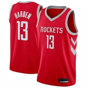Hanbao Hombre NBA Houston Rockets 13# Harden Retro T-Shirt de Baloncesto Camisetas de Verano Uniformes y Tops de Baloncesto Uniformes