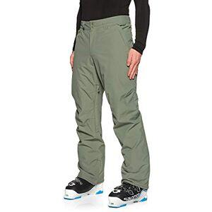 Quiksilver Estate-Pantalón para Nieve para Hombre, Agave Green, M