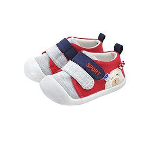 DEBAIJIA Bebé Primeros Pasos Zapatos 1-2 años Niños Zapatos Niños Niñas Infante Suave Suela Antideslizante Algodón Transpirable Ligero TPR Material Slip-on Zapatillas Deportivas Outdoor