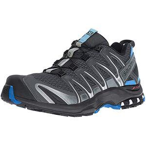 SALOMON XA Pro 3D, Zapatillas de Trail Running para Hombre, Gris Stormy Weather Black Hawaiian Surf, 43 1/3 EU