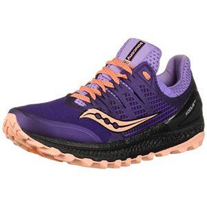 Saucony , Zapatillas de Trail Running Mujer, S10449-37, Morado/Rosa, 44 EU