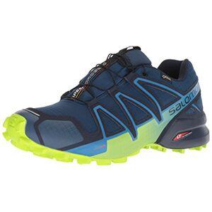 SALOMON Speedcross 4 GTX, Zapatillas de Trail Running para Hombre, Azul (Poseidon/Navy Blazer/Lime Green), 43 1/3 EU