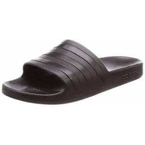Adidas Adilette Aqua, Zapatos de Playa y Piscina para Hombre, Negro (Black F35550), 43 EU