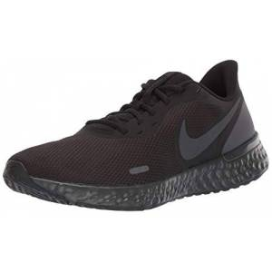 Nike Revolution 5 Zapatillas de Atletismo para Hombre, Color Negro Antracita, Color Negro, Talla 38 EU