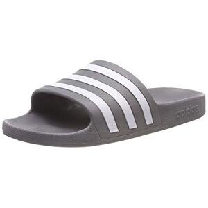 Adidas Adilette Aqua, Zapatillas de Cross Unisex Adulto, Grigio (Grey Three F17/Ftwr White/Grey Three F17 Grey Three F17/Ftwr White/Grey Three F17), 39 1/3 EU