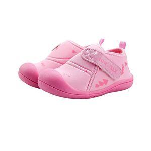 DEBAIJIA Bebé Primeros Pasos Zapatos 1-2 años Niños Zapatos Niños Niñas Infante Suave Suela Antideslizante Nylon Transpirable Ligero TPR Material Slip-on Zapatillas Deportivas Outdoor