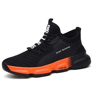SROTER Zapatos de Seguridad para Hombre con Puntera de Acero Zapatillas de Seguridad Trabajo Antideslizante Ligeros Calzado de Industrial y Deportiva 750g~800g
