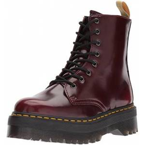 Dr. Martens Dr.Martens Vegan Jadon II 8-Eyelet 22563600 Synthetic Mens Boots Cherry Red 46