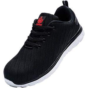 DYKHMILY Zapatos de Seguridad Hombre Mujer Zapatillas de Seguridad Trabajo para Comodas Zapatos de Industria y Construcción