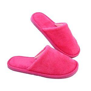 Leisial Antideslizante Zapatillas de Estar por Casa Zapatillas Caliente Slippers Interior Pareja Slipper Invierno Otoño para Adultos Mujer Hombre
