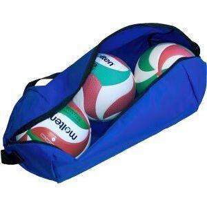Molten Profesional Bolsa de 3 Balones de Voleibol, Unisex, Azul, Talla Única