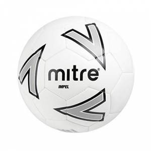 Mitre Impel Training Football White/Silver/Black, 4