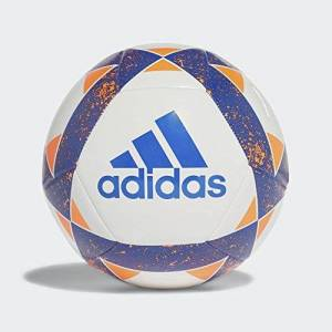 Adidas Starlancer V Balón, Hombre, Blanco (Azul), 5