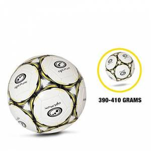OPTIMUM Classico Balón de fútbol en Negro/Amarillo, Tamaño 5, Niños, Talla 5