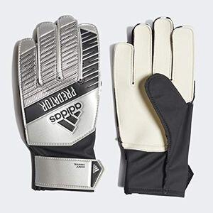 Adidas Predator Training Goalkeeper Guantes de Fútbol, Unisex Niños, Plateado (Silver Met./Black), 3.5