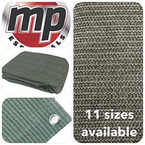 MP Brands MP Essentials Estera transpirable y resistente al agua para exterior, para suelo y tiendas de campaña, color GREEN & GREY, tamaño 2.5 x 4m