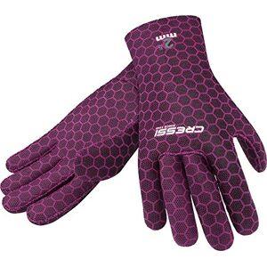 Cressi High Stretch Gloves Guantes de Neopreno de 2.5 mm para apnea y Buceo, Adultos Unisex, Rosa, M