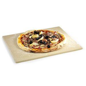 Barbecook Universele Pizzaplaat-Nieuw Placa Universal para Pizza y Siesta, Marrón, 43x35x3 cm