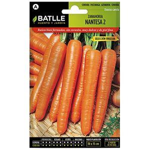 Semillas Batlle Semillas Hortícolas - Zanahoria Nantesa 2 sel. Urgelba - Batlle