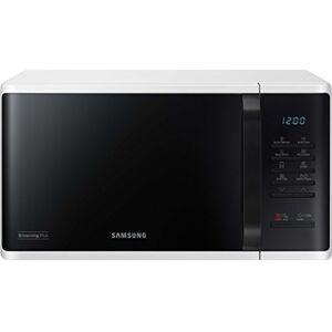 Samsung MG23K3513AW/EG Encimera - Microondas (Encimera, Microondas con grill, 23 L, 800 W, Botones, Giratorio, Negro, Blanco)