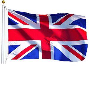 My London Souvenirs Union Jack Reino Unido Bandera. Un brillante,de gran tamaño,bandera Reino Unido,Souvenir,medición 3ft por 5ft 91 cm por 152 cm Duradero para uso en interiores y aire libre,this Union Bandera es