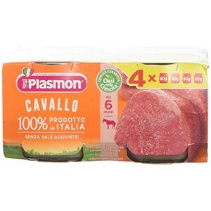 Plasmon Grupo Erik Caballo, 4X 80gr