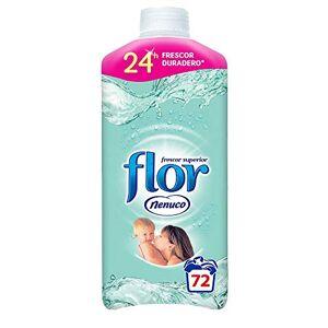 Flor Nenuco - Suavizante Concentrado, 64 lavados, 1472 ml, (Pack de 2)