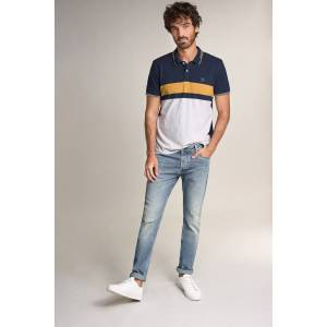 Jeans slender slim carrot vintage look