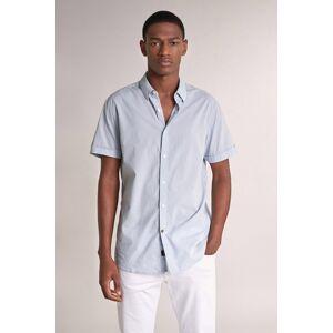 Camisa fit slim manga curta