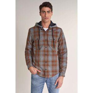 Camisa overshirt com enchimento