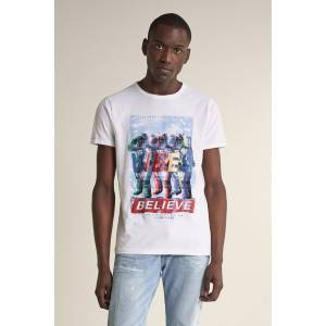 T-shirt gráfica ´vibes believe´