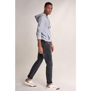 Jeans navarro straight com ligeiro desgaste