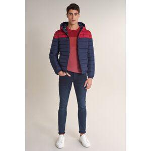 Jeans clash skinny com desgaste