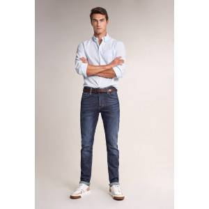Jeans slender slim carrot spartan escura