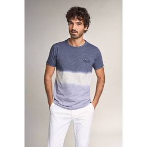 Salsa T-shirt em algodão degradê- Lilás- male