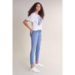 Jeans Push Up Wonder skinny bright blue